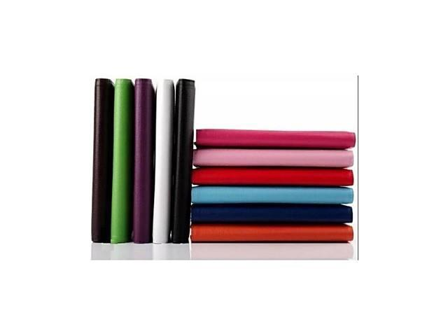 High Quality PU Leather 360 Degree Rotation with Stand Case for 9 Inch Tablet (Assorted Colors) , Purple
