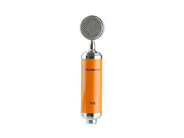 Transhine V8 Condenser Microphone For Recording , Black