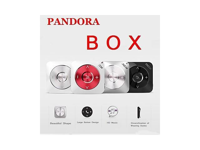 Pandora QY3 Bluetooth Stereo Bluetooth Headset Earhook , Red