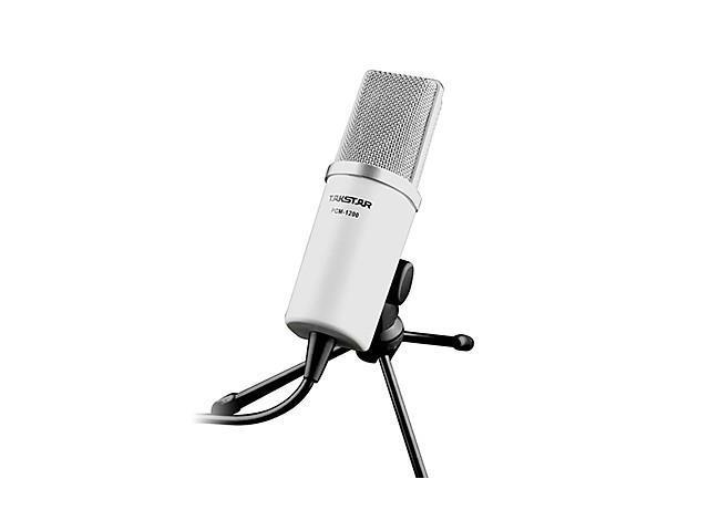 Takstar PCM-1200 Capacitance Microphone for Mobile Phone/Computer , Black