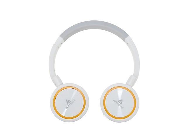 Hi-Fi ARKON ABH102 Wireless Music Stereo Headset Bluetooth Headset with A Microphone Headset , Orange