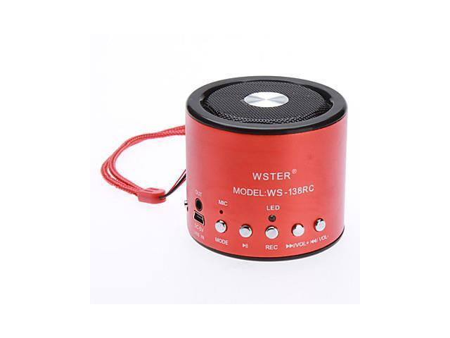 Mini Portable Speaker (Support TF Card and Music Player) , Black