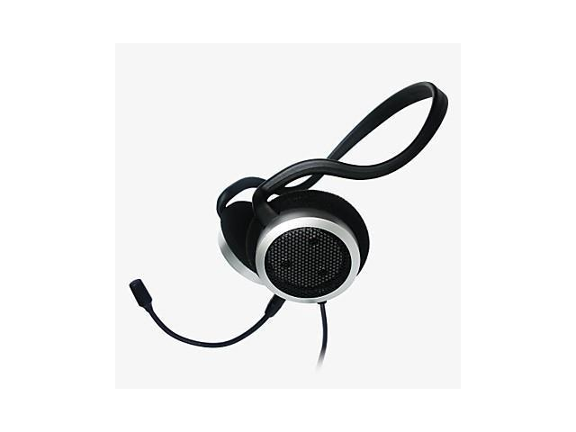 M206 Hi-Fi Stereo Neckband Headphone with Mic And Volume Control for PC