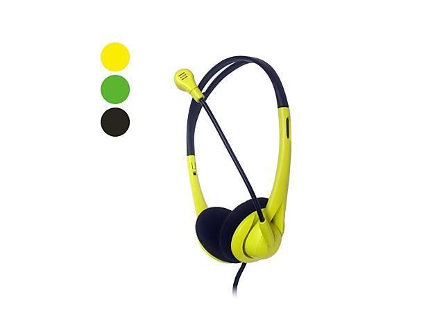 M604 Hi-Fi Noise Cancelling Headphone for Computer , Black