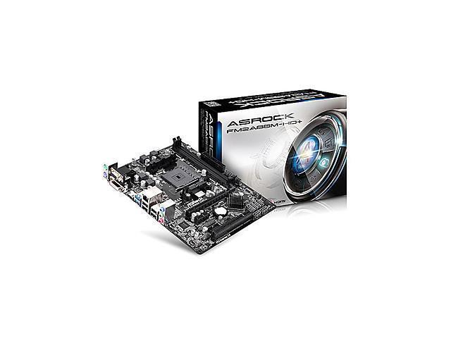 FM2A88M-HD+ AMD A88X AMD A10/A8/A6/A4 Socket FM2+ Micro ATX Desktop Motherboard
