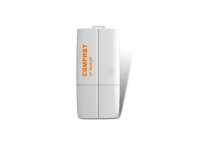 Comfast CF-WU835P 2.4GHz 802.11b/g/n 300Mbps USB 2.0 Wireless Wi-Fi Network Adapter - White , White