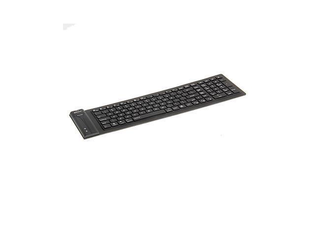 KN-115 Portable Waterproof Flexible Bluetooth Keyboard , Pink