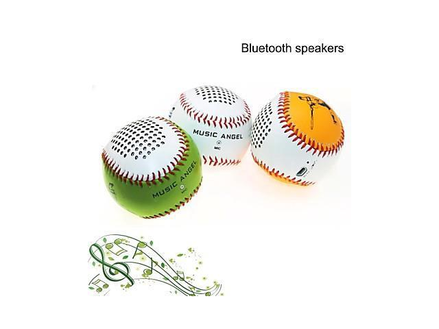 Music Angel MP3 Function Mini Wireless Stereo Bluetooth Speaker with MIC TF AUX Port for Phone/Laptop/Tablet PC , Green