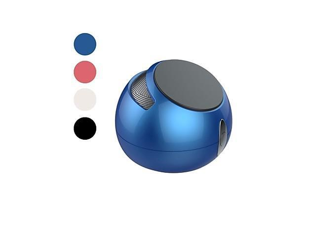 Novel Mobile phone Holder Wireless Bluetooth Speaker with Handsfree Function Supports FM , Blue