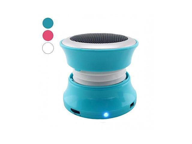 Mini Portable Wireless Bluetooth Speaker Supports Handsfree Functions , Red