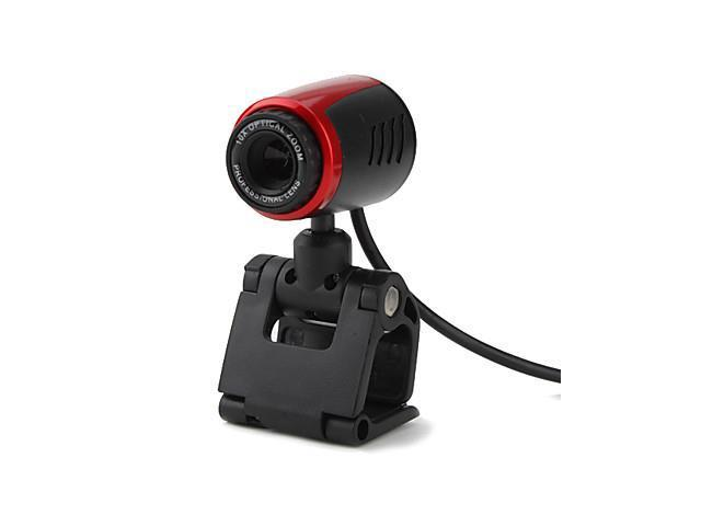 Classic Plug-and-play HD 0.3 Megapixel USB PC Camera Webcam with Microphone