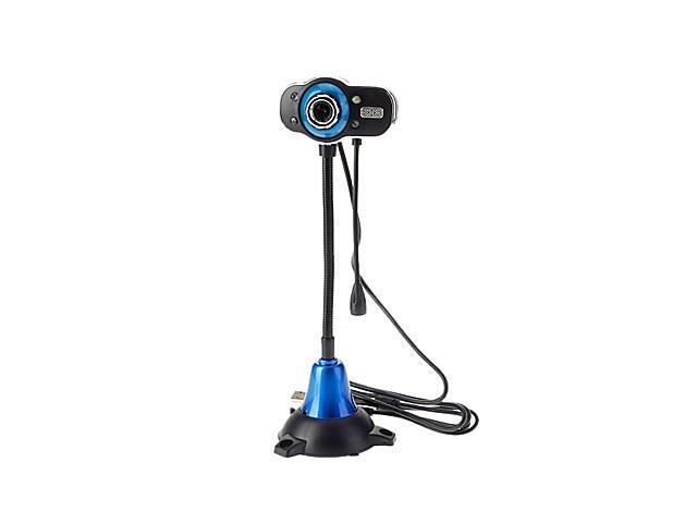 8.0 Megapixels 4-LED USB 2.0 Clip-on PC Camera Webcam
