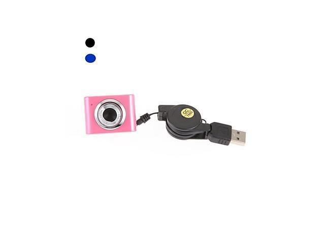USB 2.0 5.0 Mega Pixel HD Camera WebCam with Microphone for Computer PC Laptop NotebooK , Blue