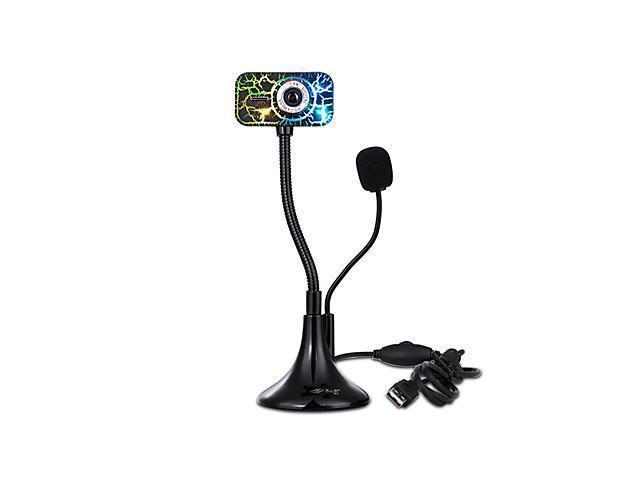 Diyiyan K7 12 Megapixels Webcam With Built-In Microphone , Black