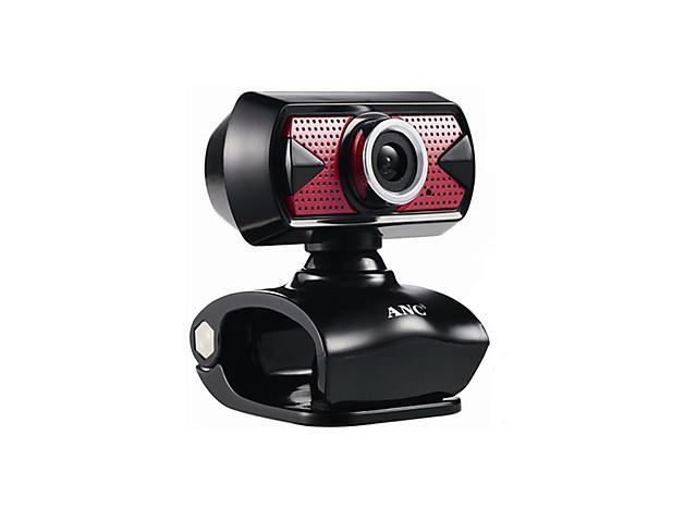 Aoni Kudian 8 Megapixel Webcam With Built-In Microphone , Black
