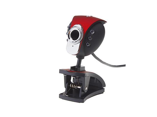 8.0 Megapixel 360 Degree Rotating USB Drive-free Webcam