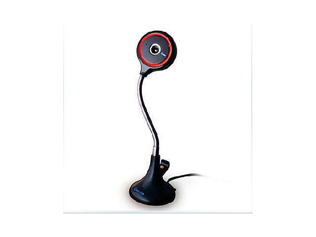 Gsou E20 12 Megapixel Mini Webcam With Built-In Microphone , Black