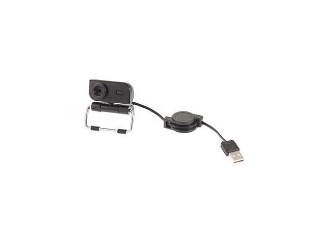 360°Rotation 5 Megapixels USB 2.0 PC Camera Mini Webcam with Microphone