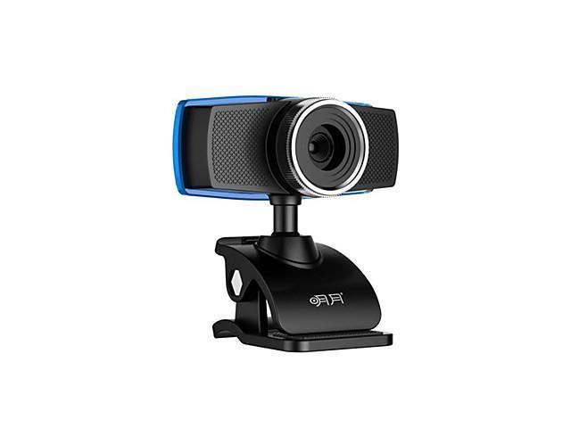Aoni 12 Megapixel Webcam With Built-In Microphone , Black