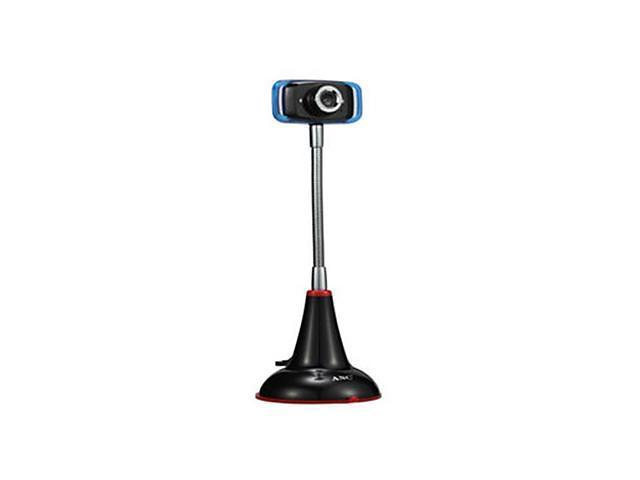 Aoni 0.8 Megapixel Mini Led Webcam With Built-In Microphone , Black