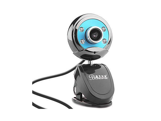 W9 12.0 Megapixels Night-version USB Drive-free Webcam for Loptop with Microphone , Silver