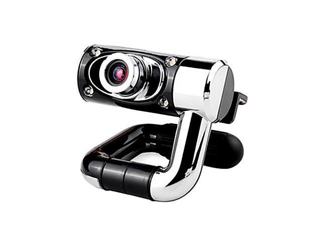 DL55 0.5 Megapixels USB Drive-free Portable Webcam for Desktop with Microphone