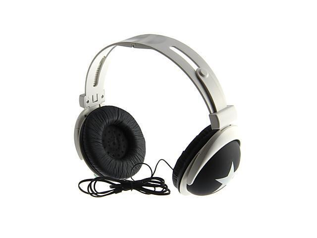 Fashionable Stereo On-Ear Headphone for S3,S4,iPhone,iPod (Black)