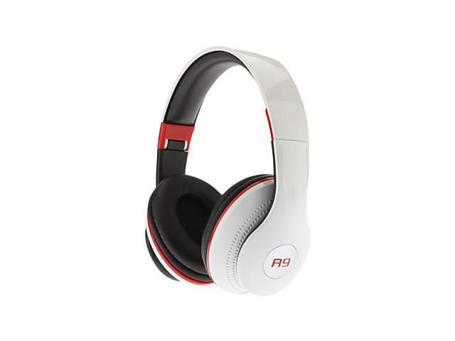 A9 Dynamic Stereo Music Comfortable Headphone White