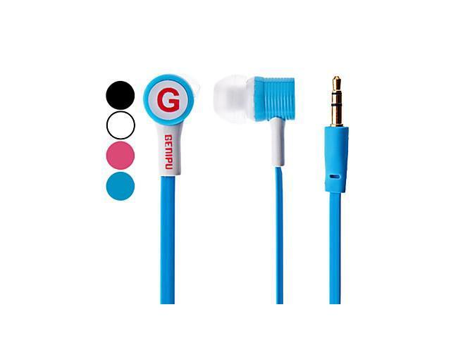 GENIPU Bass Stereo In-ear Earphone for iPod/iPhone/iPad/MP3/MP4 , White