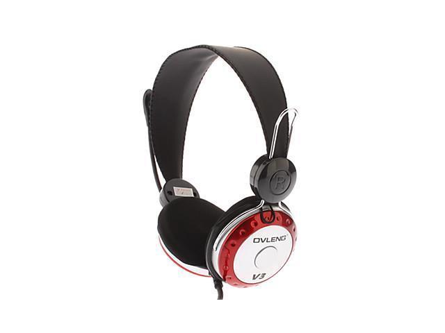 V3 Powerful Bass On-Ear Hi-fi Stereo Music Headphone