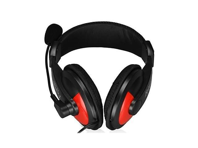 3.5mm Jack Hi-Fi Stereo Headphone with Microphone and Volume Control (180cm)