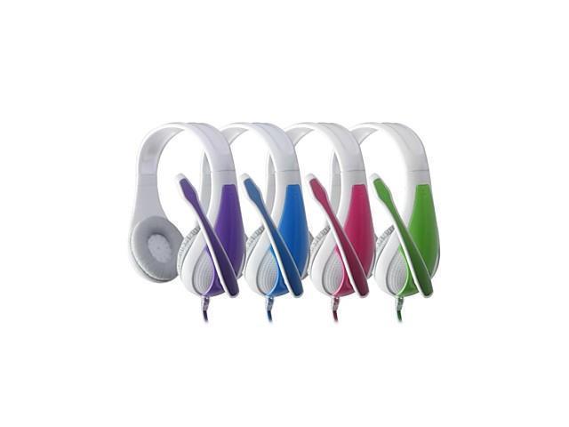 QINLIAN Y-8121Built-in Microphone Computer Headset , Pink