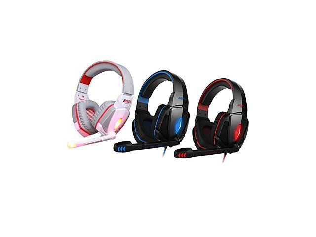 EACH G4000 Stereo Gaming Headphone with Mic Volume Control , Red