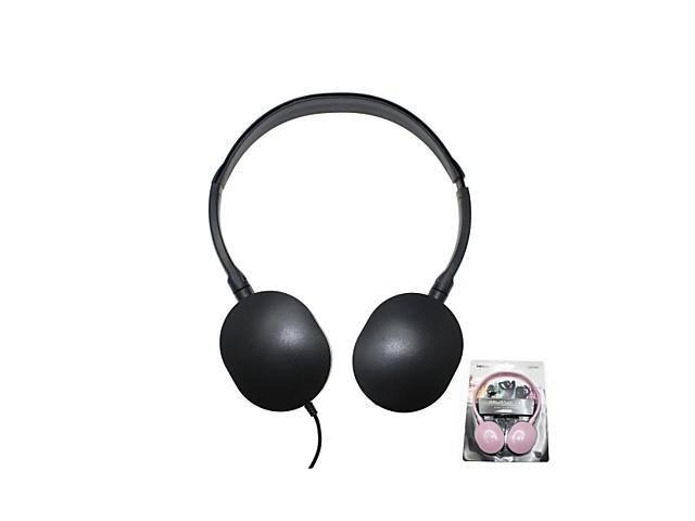 MINISO 3.5mm Stereo Music Headphone (Assorted Colors) , Black