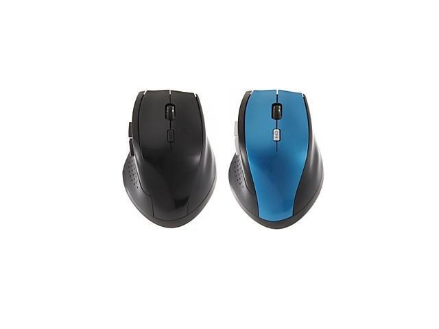 Fashion 6 Button 2.4GHz Wireless Optical Mouse for Home or Office Use(Assorted Colors) , Blue