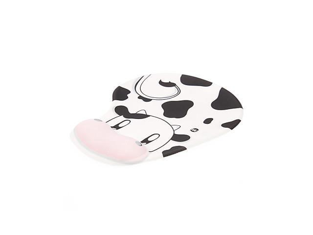 Lovely Cow Pattern Gel Wrist Support Mouse Pad