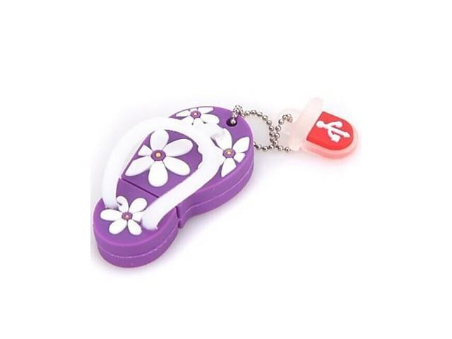 TX8 8GB Slippers USB 2.0 Flash Drive , Purple