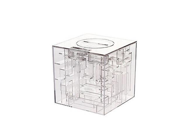 Money Maze Coin Box Puzzle Game Prize Saving Bank