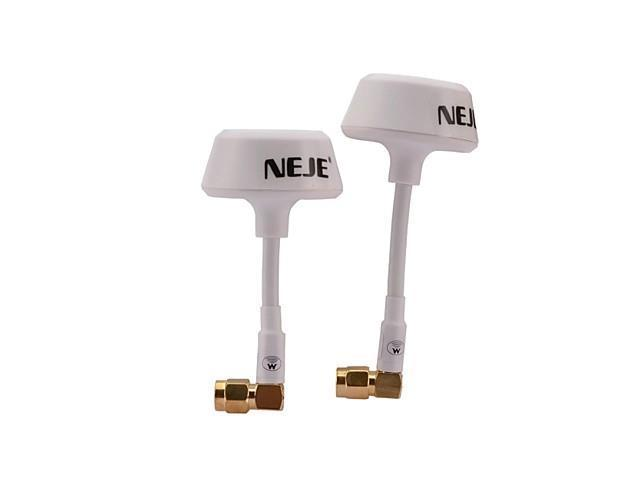 NEJE 5.8G Antenna for R/C Aircraft Model - White (2 PCS)