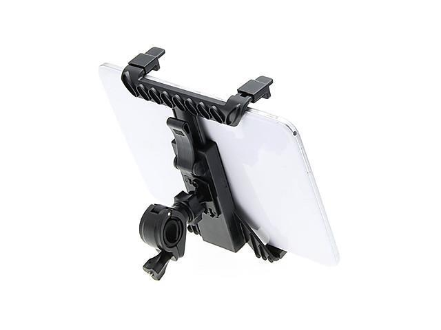 Microphone Stand Tablet Mount with 360 Degree Swivel Adjustment Holder for iPad