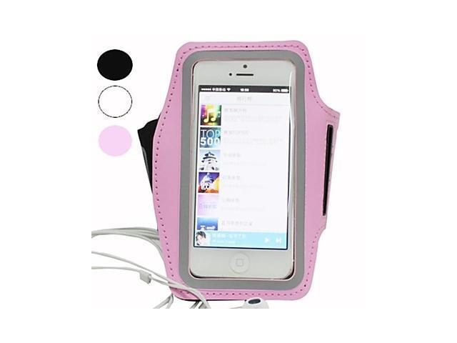Sports Armband for iPhone 5/5S (Assorted Colors) , Black