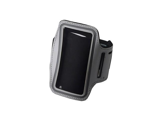 Convenient Outdoor Sports Armband with Transparent Window for iPhone 4/4S , Black