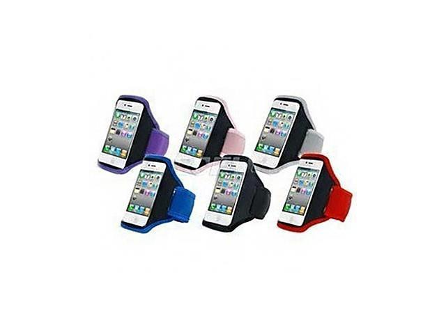 Sport Type Full Body Sports Armband for iPhone 4/4S (Assorted Color) , Black
