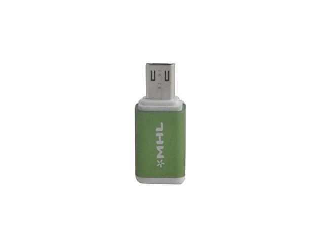 Mini Style Micro USB 5-Pin Female to Micro 11-Pin Male Adapter for Samsung Galaxy , Purple