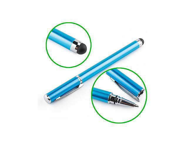 Touchscreen Writing Stylus with Ball Pen for iPad, iPhone, Playbook, Xoom and P1000 (Blue)
