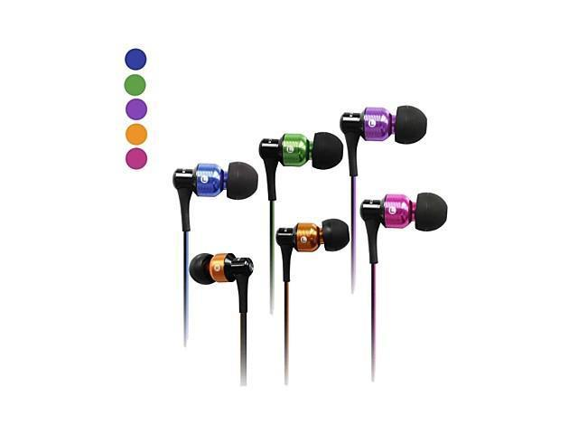 AWEI ES-50vi 3.5mm In-Ear Earphones With MIC 3 Accessories for Samsung Phones(Assorted Colors) , Purple