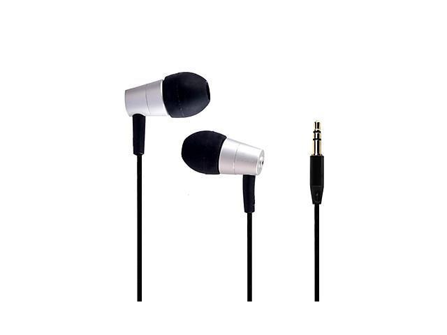 AWEI ES-ES-Q7 3.5mm In-Ear Earphones With 2 Accessories for Samsung Phones(Assorted Colors) , Silver