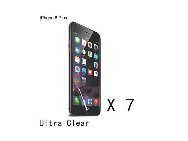 High Quality Clear Screen Protector for iPhone 6 Plus (7 pcs)