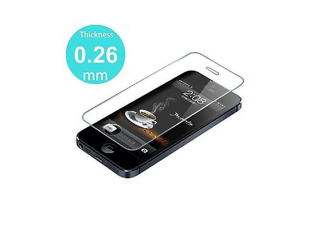 Premium Shock Proof Tempered Glass Screen Protective Film for iPhone 5/5S/5C