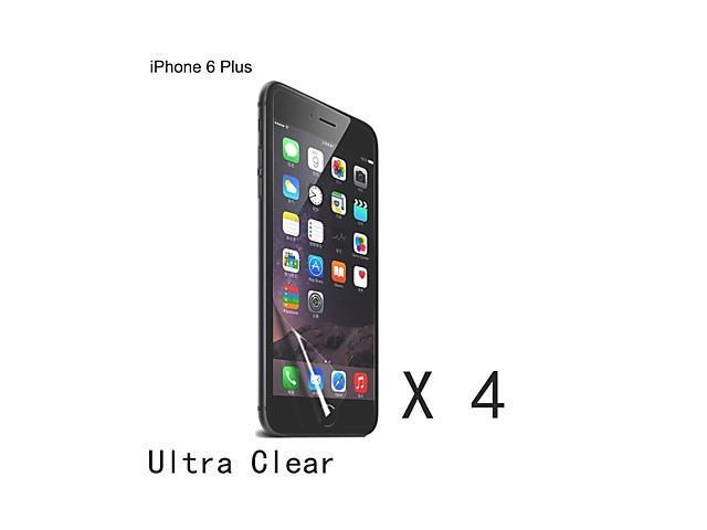 High Quality Clear Screen Protector for iPhone 6 Plus (4 pcs)